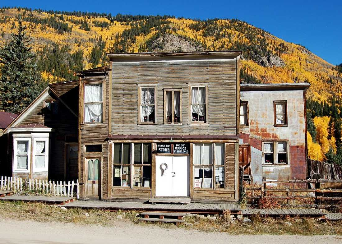 St Elmo ghost town is one of the hidden gems in Colorado