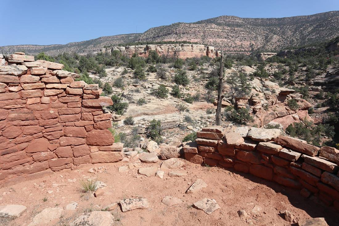 Tower ruin at Canyons of the Ancients - one of the best hidden gems of Colorado