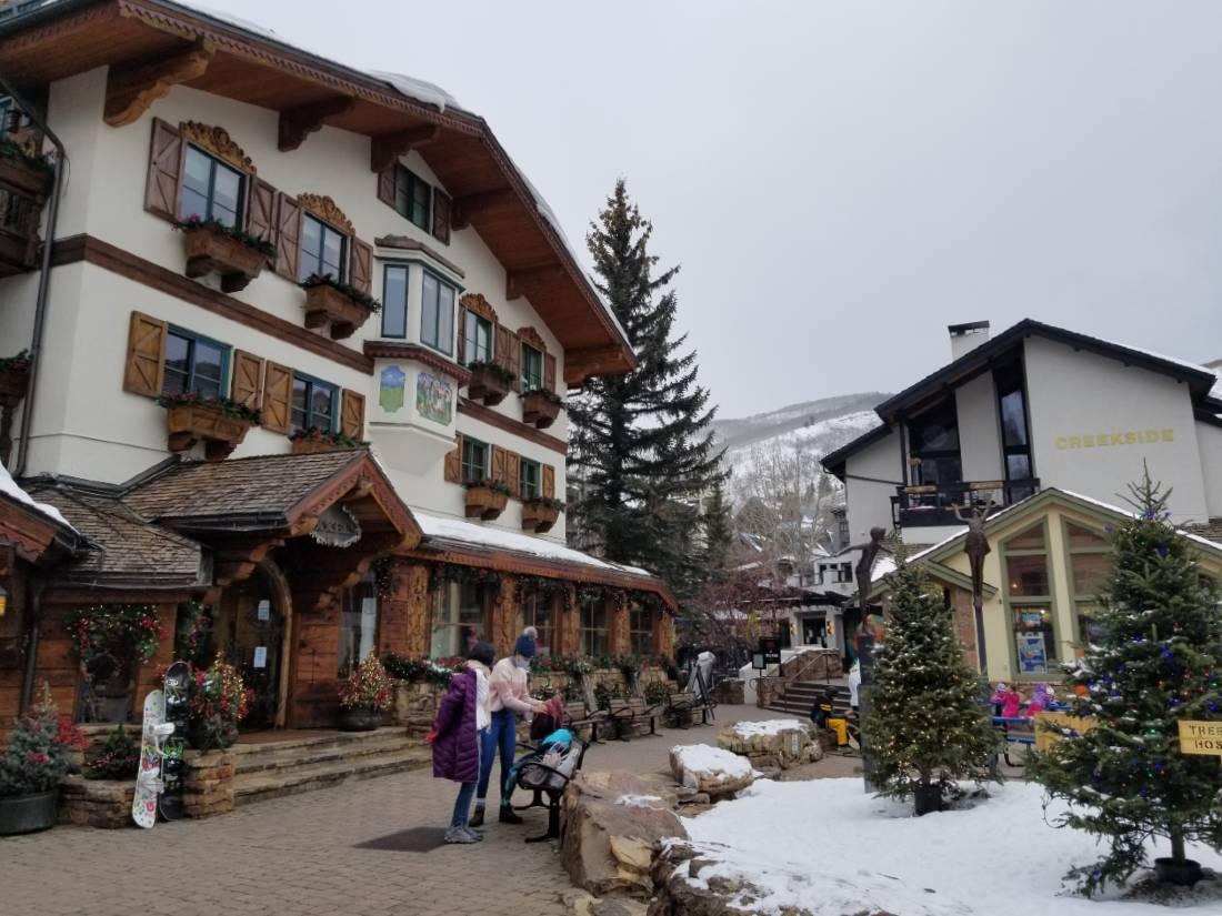 Vail Village in Winter
