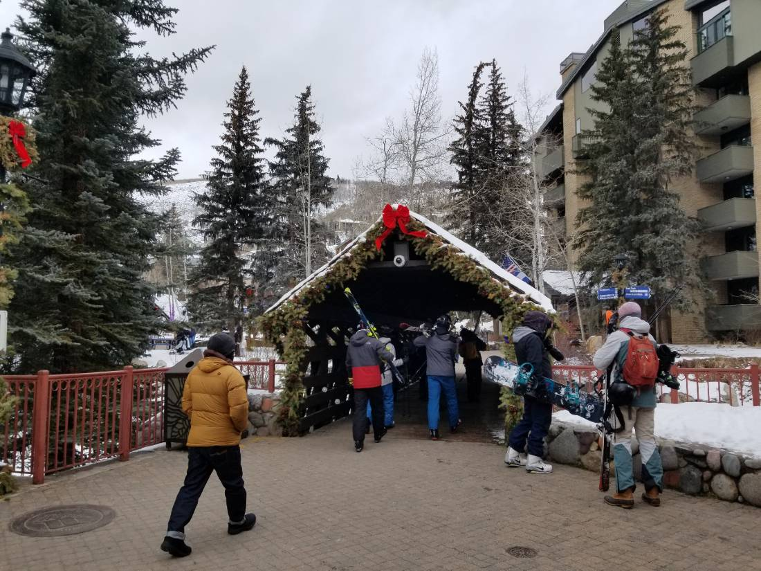 Vail in Winter