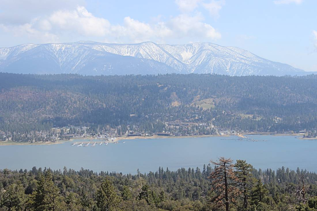 Views from Cougar Crest Trail during Big Bear summer