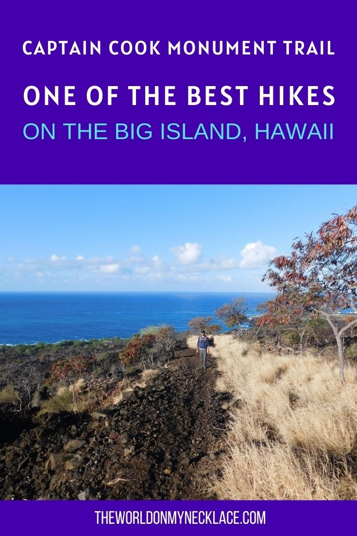 Hike the Captain Cook Monument Trail in Hawaii