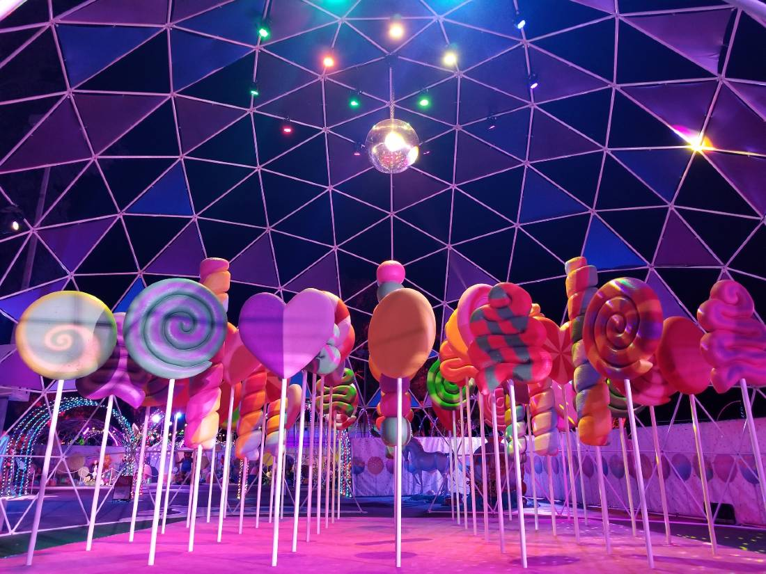 Disco Dome at Sugar Rush