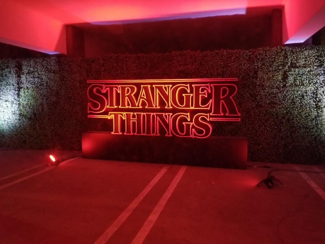 Stranger Things Drive Thru