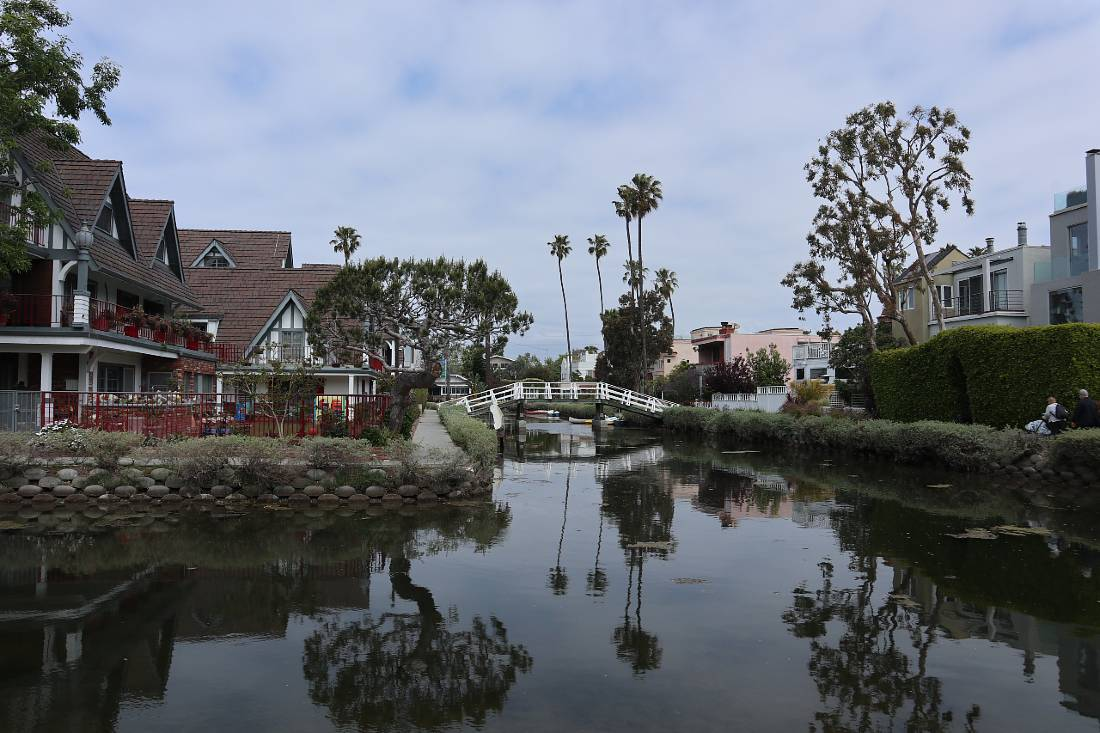 Venice Canals in LA