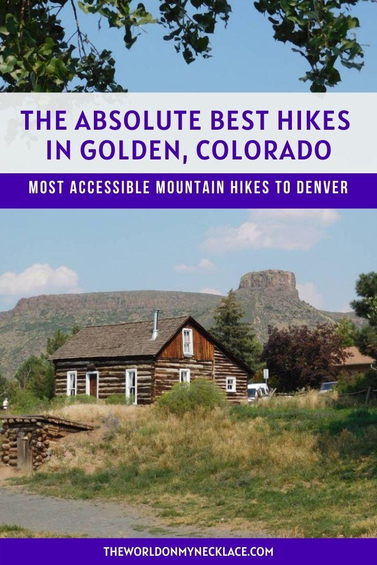 Best Hikes in Golden Colorado