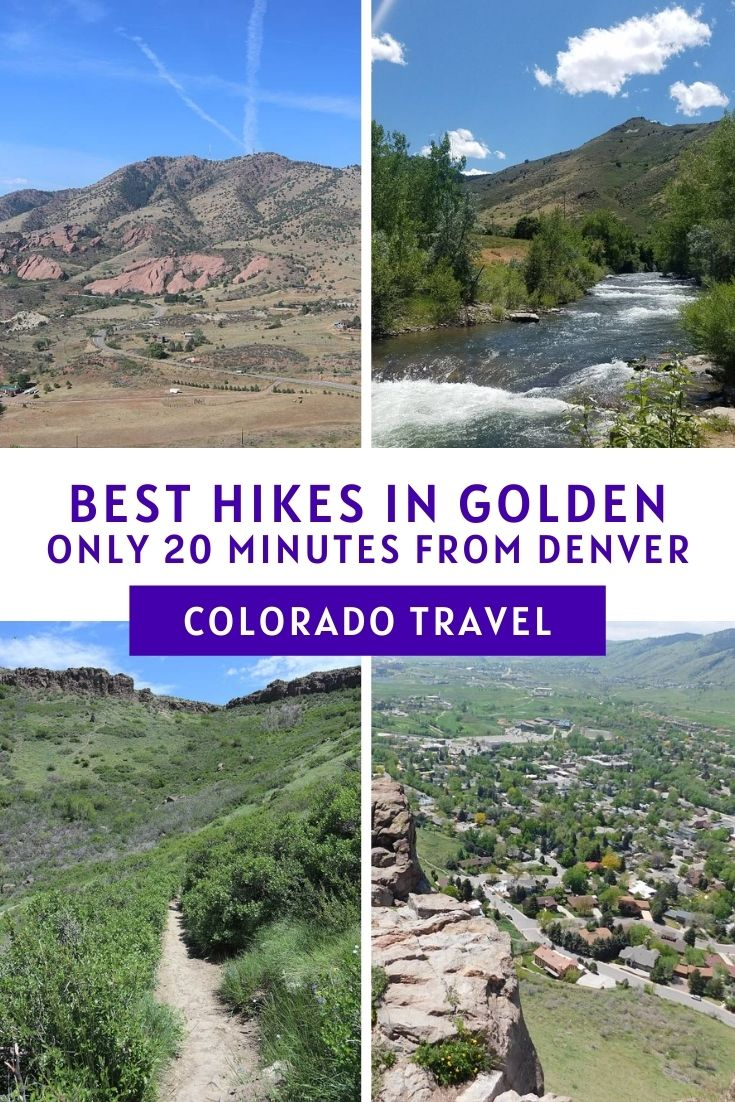 Best Hiking Trails in Golden