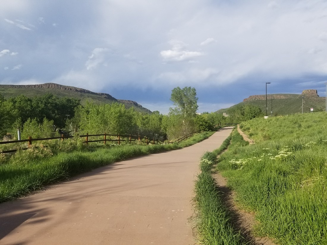 The Clear Creek Trail - one of the best Golden hikes