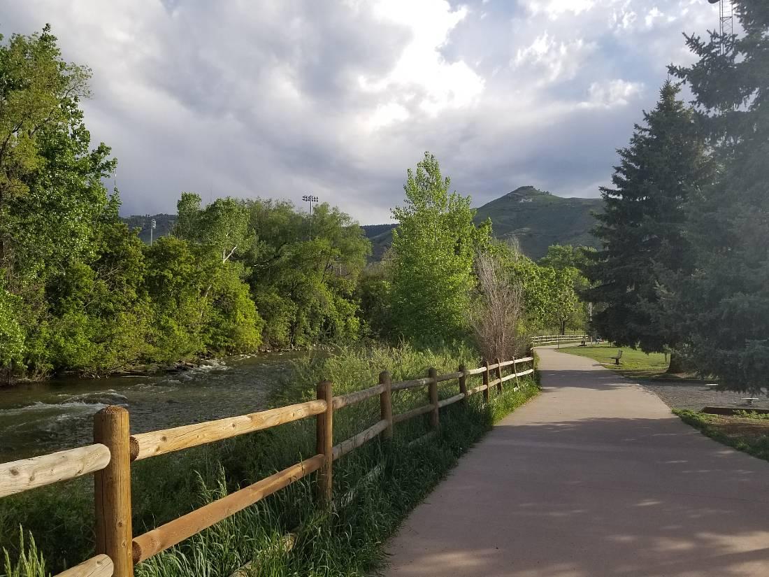 Clear Creek Golden hiking
