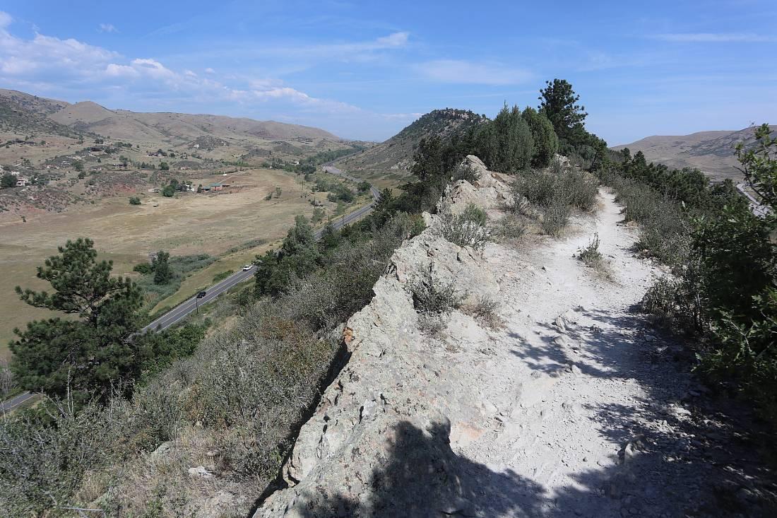 Dakota Ridge Hiking trail in Golden