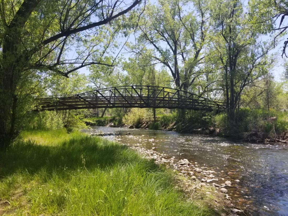 Clear creek in Golden