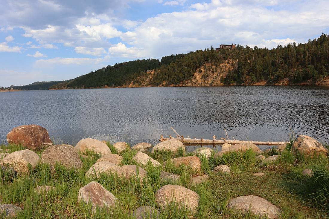 Barker Reservoir in Nederland, one of the mountain towns close to Denver