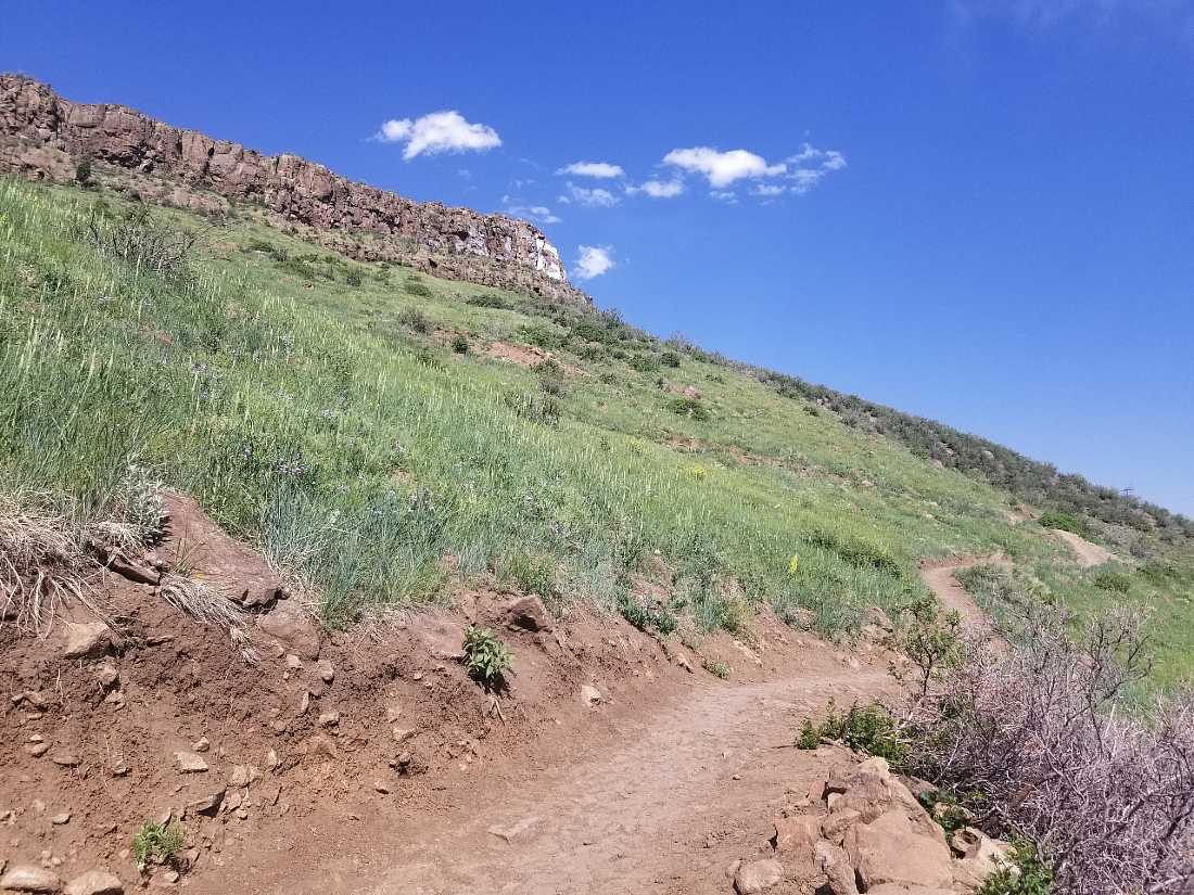 Olivine trail on South Table Mountain in Golden