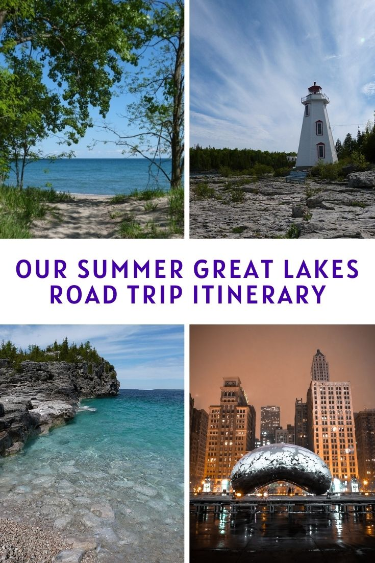Our Summer Great Lakes Road Trip Itinerary