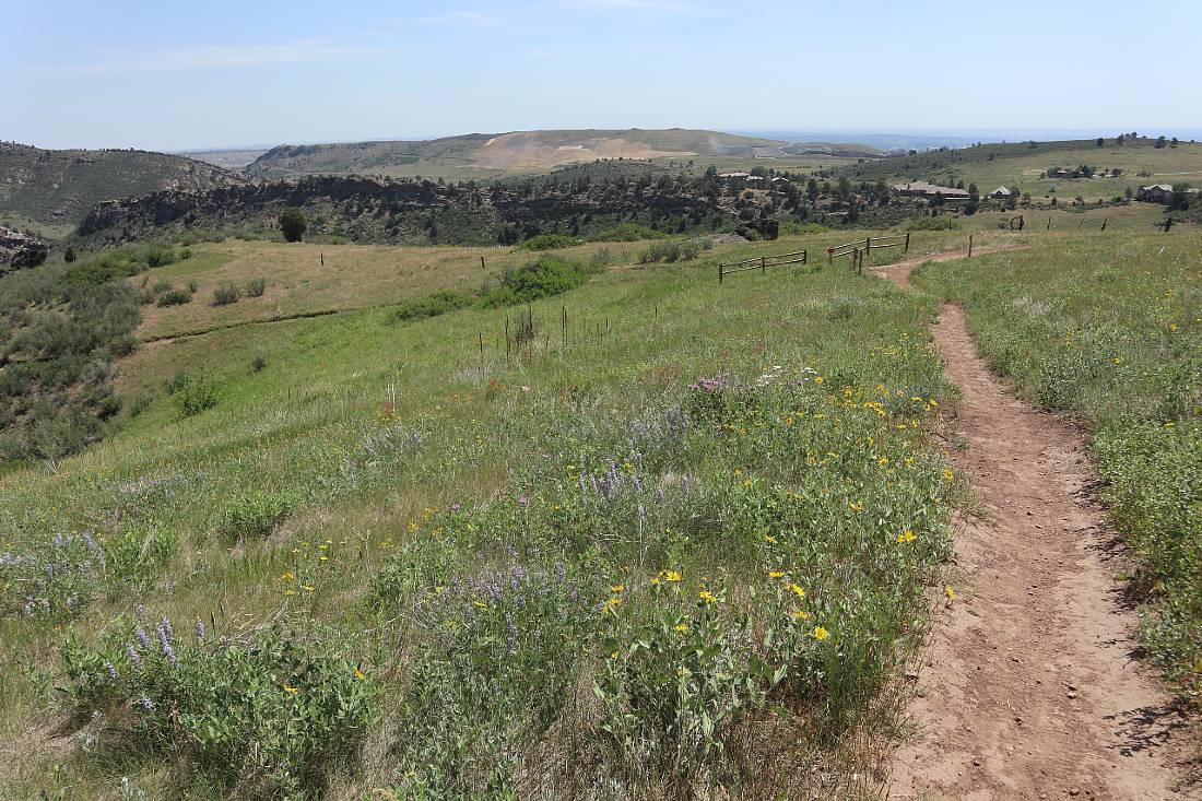 Hiking in White Ranch Park in Golden