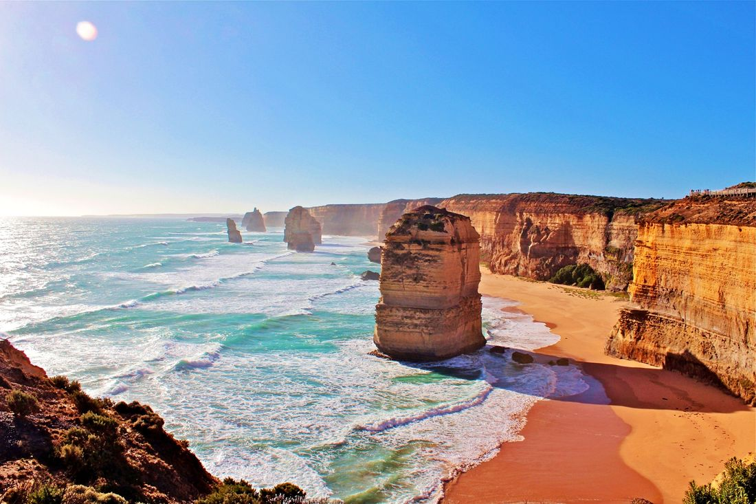 One of the best seascapes in Australia is along the Great Ocean Road