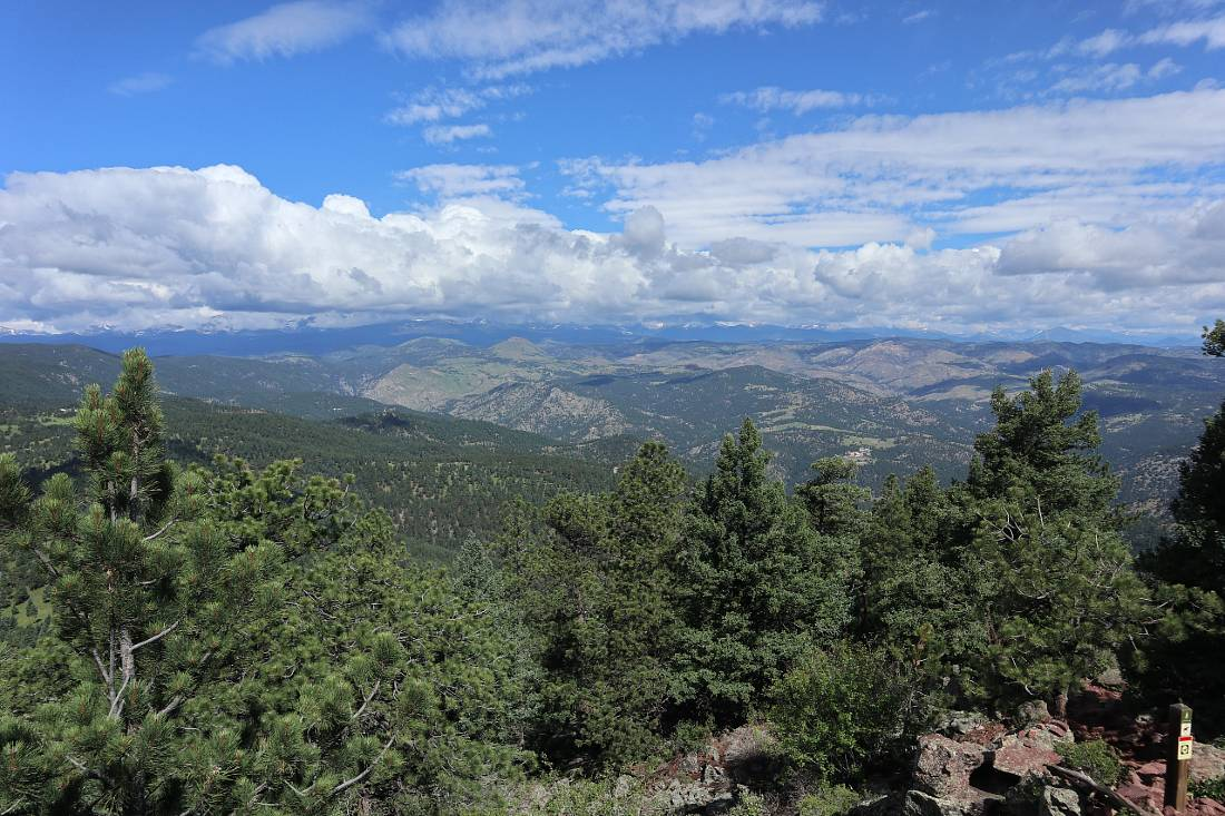 Views from Green Mountain in Boulder