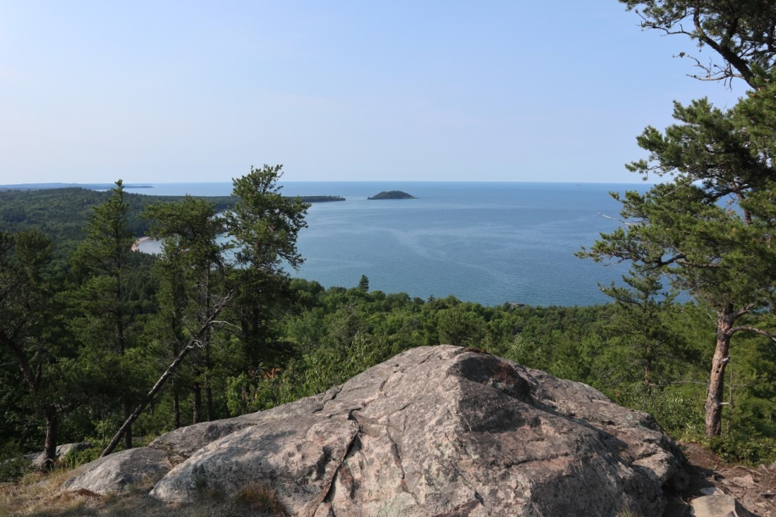 Views from Sugarloaf Mountain in Marquette