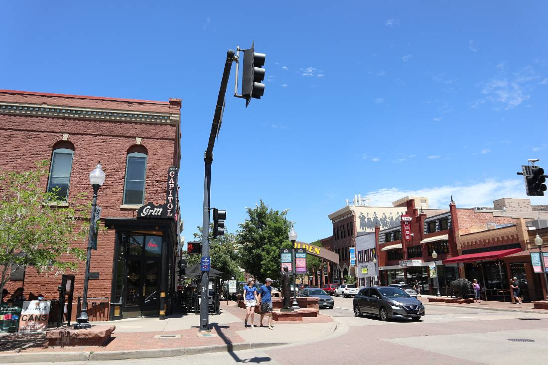 Downtown Golden, CO