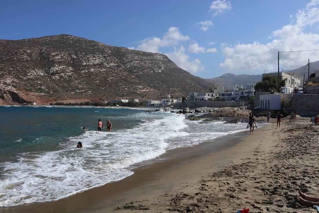 Apollonas on Naxos