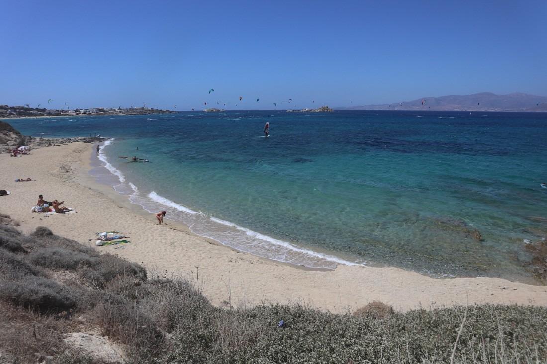 Beach on Naxos