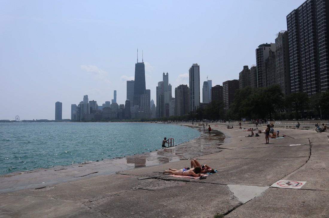Chicago lakeside
