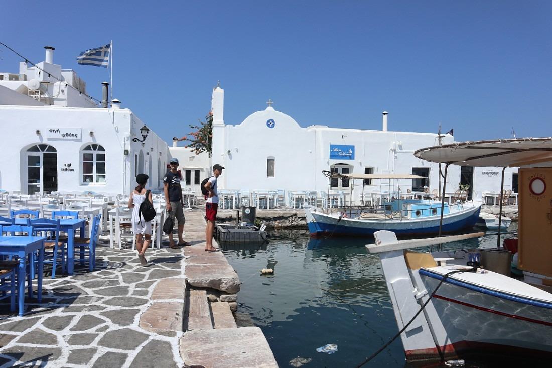 Naoussa on Paros