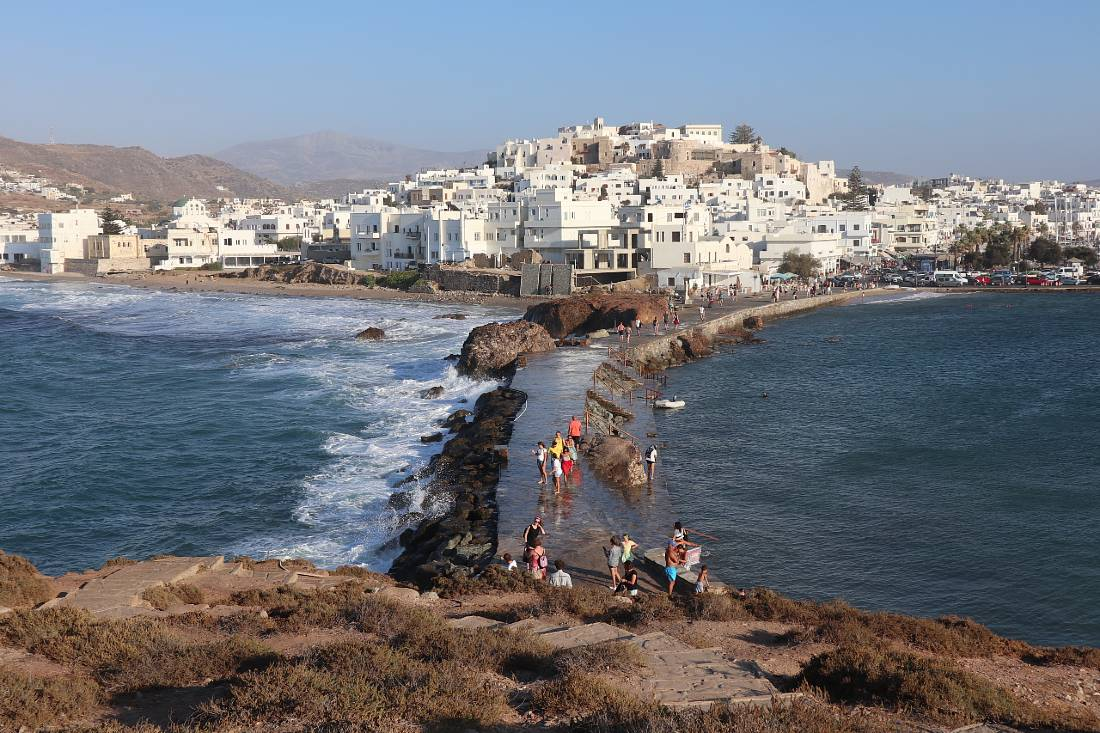 Naxos Chora view