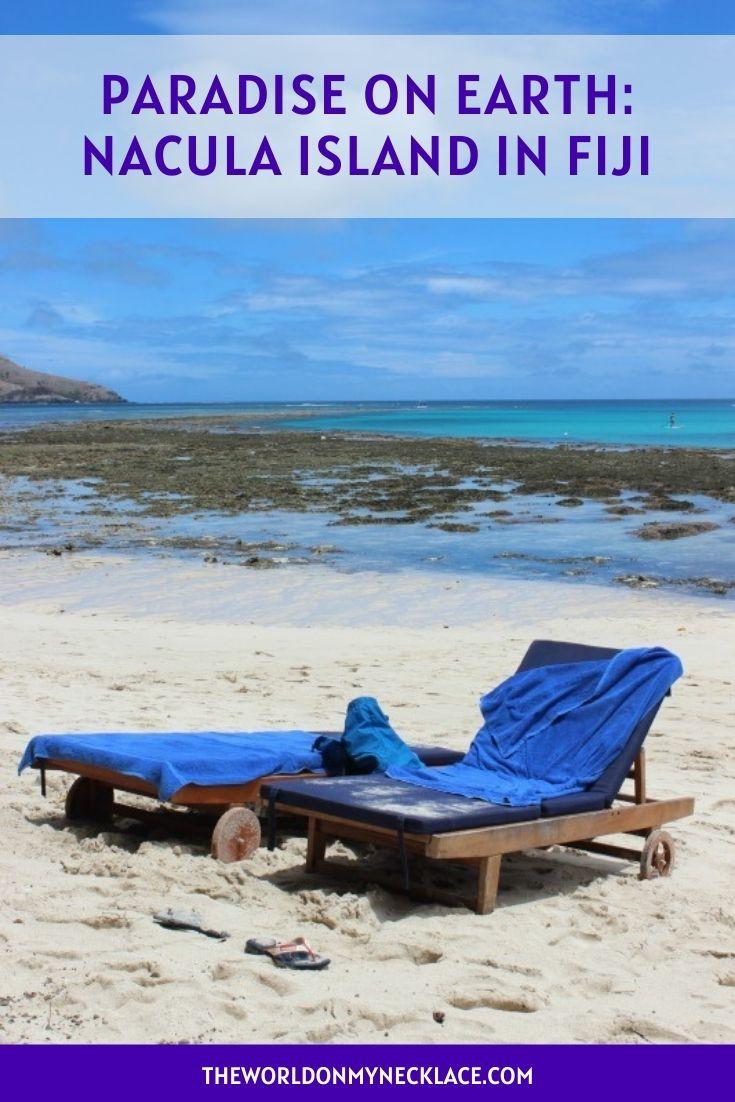 Paradise on Earth Nacula Island in Fiji
